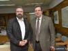 Θεσσαλονίκη 31.1.2019 Την Πρυτανεία επισκέφτηκε, Πέμπτη 31 Ιανουαρίου 2019, ο Υπουργός Αγροτικής Ανάπτυξης και Τροφίμων, Σταύρος Αραχωβίτης, όπου έγινε δεκτός από τον Πρύτανη του Αριστοτέλειου Πανεπιστήμιου Θεσσαλονίκης, Καθηγητή Περικλή Α. Μήτκα.