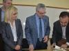 Θεσσαλονίκη 31.10.2018 Σύμφωνο Συνεργασίας  μεταξύ της Πολυτεχνικής Σχολής του ΑΠΘ  και του Ελληνικού Δικτύου Πόλεων με ποτάμια