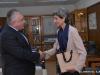 Θεσσαλονίκη 15.11.2019 Συνάντηση του Πρύτανη του Αριστοτέλειου Πανεπιστήμιου Θεσσαλονίκης με την Πρέσβειρα της Μεγάλης Βρετανίας στην Αθήνα