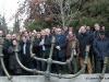 Θεσσαλονίκη 28.1.2019 Σιωπηλή διαμαρτυρία , στο εβραϊκό μνημείο στο Αριστοτέλειο Πανεπιστήμιο Θεσσαλονίκης