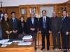 Θεσσαλονίκη 17.1.2020 Συνάντηση του Πρύτανη του ΑΠΘ με αντιπροσωπεία από το Υπουργείο Παιδείας της Κίνας